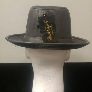 BRUNO CAPELO Accessories - MEN'S BRUNO CAPELO TOP GRAIN FEDORA HAT